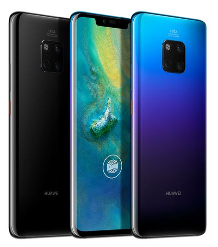 HUawei Mate 20 Pro lock screen